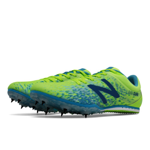 New Balance MD500v5 Spike Women's Track Spikes Shoes - Yellow / Blue (WMD500Y5)