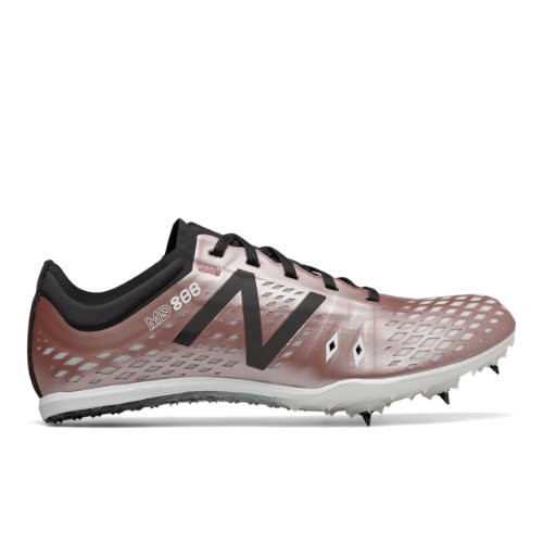 new balance rose gold spikes