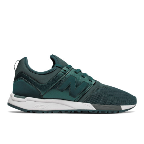 New Balance 247 Classic Women's Sport Style Shoes - Green / White (WRL247HJ)