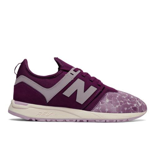 New Balance 247 Sport Women's Sport Style Shoes - Purple / Pink (WRL247HM)