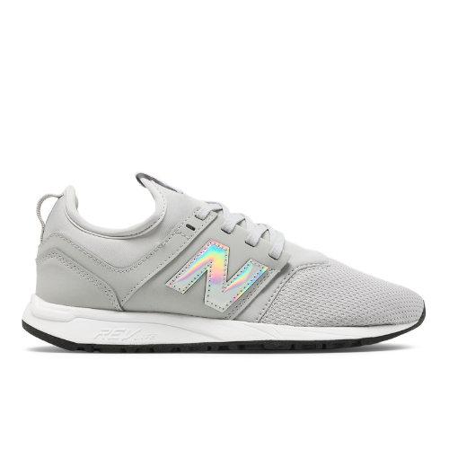 New Balance NB x J.Crew 247 Women's Sport Style Shoes - Grey (WRL247J6)