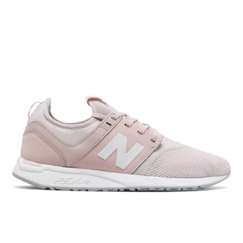 New Balance 247 Classic Women's Sport Style Sneakers Shoes - Pink / White (WRL247SC)