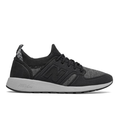 New Balance 420 Slip-On Women's Sport Style Shoes - Black / Grey (WRL420ST)