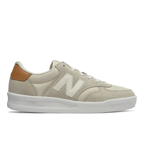 New Balance 300 Women's Court Classics Shoes - Off White (WRT300EO)