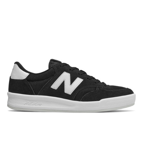 New Balance 300 Women's Court Classics Shoes - Black (WRT300MK)