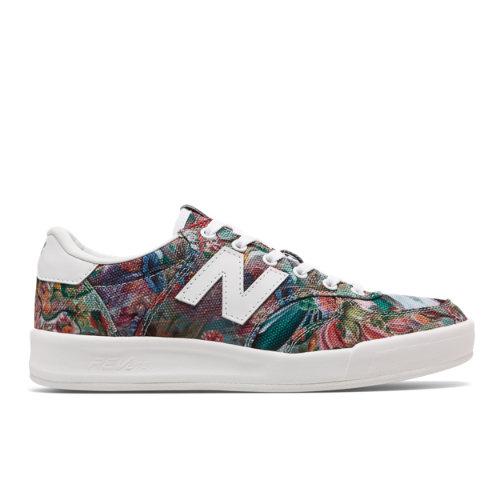 New Balance 300 Women's Court Classics Tennis Shoes - Floral (WRT300PC)