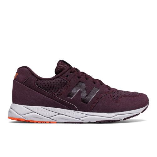 New Balance 96 REVlite Women's Sport Style Sneakers Shoes - Purple / Orange (WRT96SN)