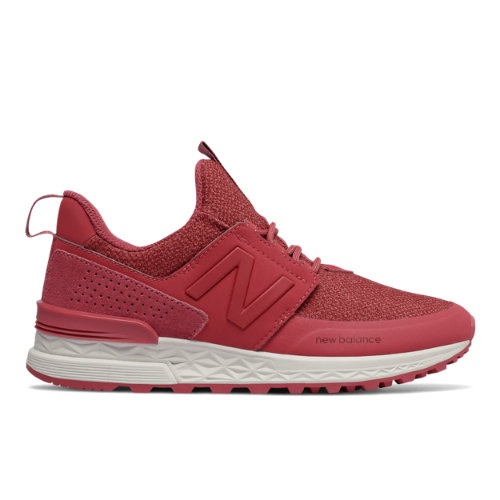 New Balance 574 Sport Women's Shoes - Red (WS574DTG)