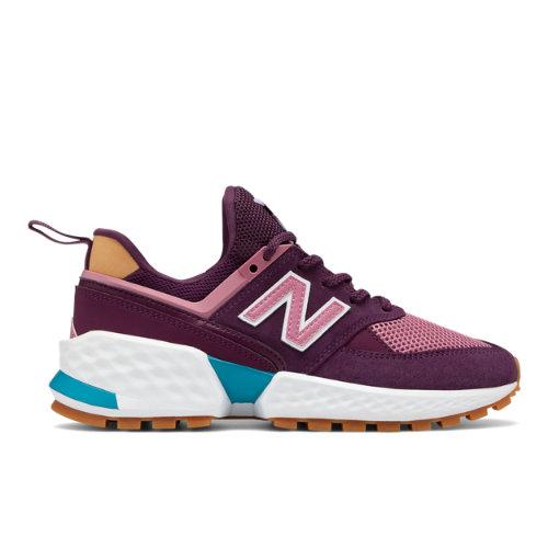 New Balance 574 Sport Women's Sport Style Shoes - Violet (WS574JSE)