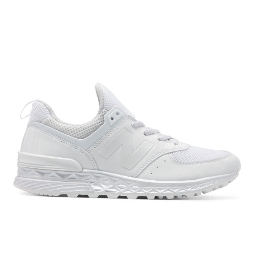 New Balance 574 Sport Women's Sport Style Sneakers Shoes - White (WS574SAP)