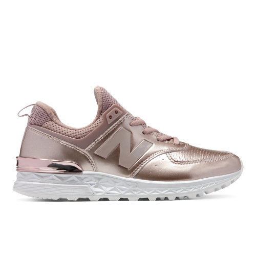 62a068d34d33c New Balance 574 Sport Women's Sport Style Sneakers Shoes - Rose Gold  (WS574SAR)