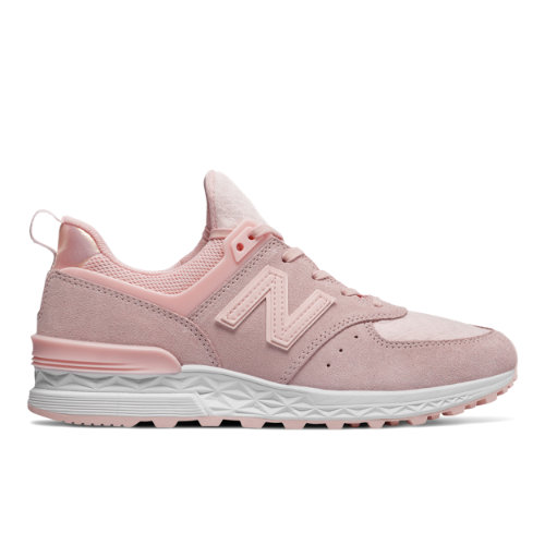 New Balance 574 Sport Women's Sport Style Shoes - Pink (WS574SNC)