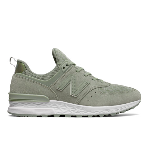 New Balance 574 Sport Women's Shoes - Green (WS574SND)