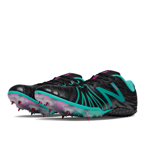 New Balance SD100 Spike Women's Track Spikes Shoes - Black, Teal (WSD100BB)