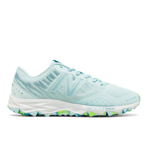 New Balance 690v2 Trail Women's Trail Running Shoes - Blue / Green (WT690RO2)