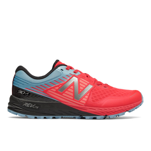New Balance 910v4 Trail Women's Neutral Cushioned Shoes - Vivid Coral (WT910PB4)
