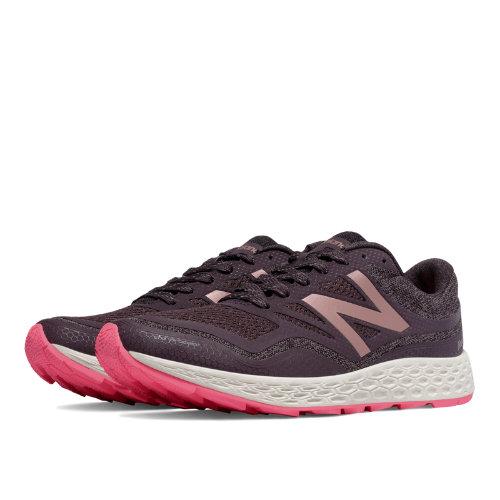 New Balance Fresh Foam Gobi Trail Women's Shoes - Dark Grey / Pink (WTGOBIGP)