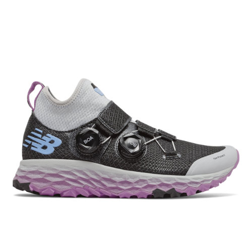 New Balance Fresh Foam Hierro Boa Women's Trail Running Shoes - Black / Grey (WTHBOABP)