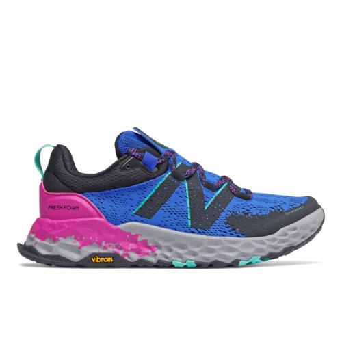 New Balance Fresh Foam Hierro v5 Women's Trail Running Shoes - Blue / Pink (WTHIERC5)