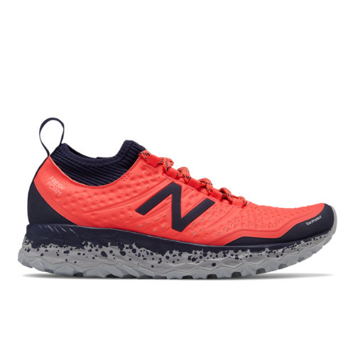 New Balance Fresh Foam Hierro v3 Women's Soft and Cushioned Shoes - Vivid Coral / Pigment (WTHIERP3)