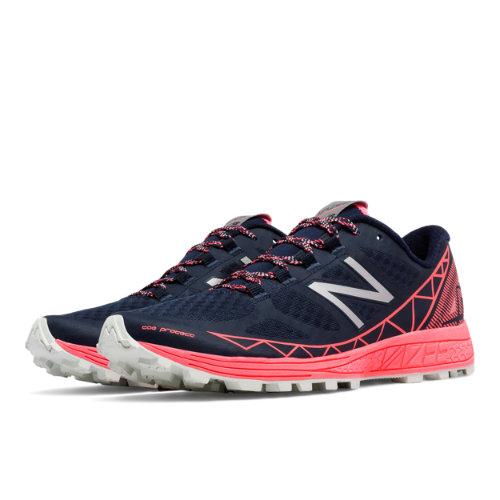 New Balance Vazee Summit Trail Women's Speed Shoes - Black / Pink (WTSUMBG)