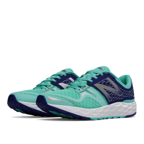 New Balance Fresh Foam Vongo Women's Shoes - Light Blue / Navy (WVNGOBY)