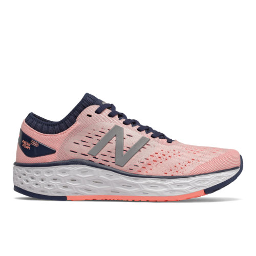 New Balance Fresh Foam Vongo v4 Women's Stability Running Shoes - Pink (WVNGOPN4)