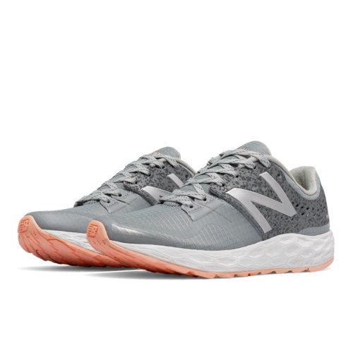 New Balance Fresh Foam Vongo Moon Phase Women's Soft and Cushioned Shoes - Silver / Grey (WVNGOSL)