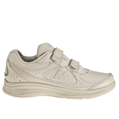 New Balance Hook and Loop 577 Women's Health Walking Shoes - Bone (WW577VB)