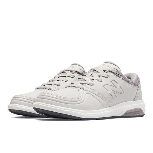 New Balance 813 Women's Health Walking Shoes - Off White, Light Grey, Lead (WW813GY1)