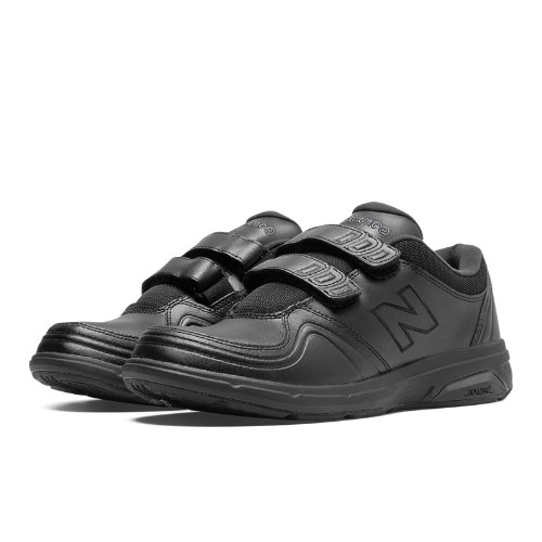 New Balance Hook and Loop 813 Women's Health Walking Shoes - Black (WW813HBK)