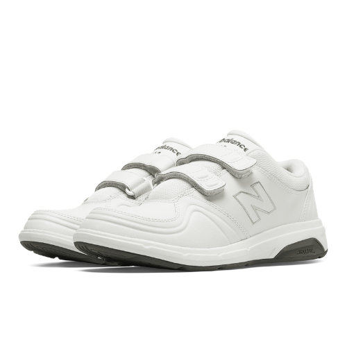 New Balance Hook and Loop 813 Women's Health Walking Shoes - White (WW813HWT)