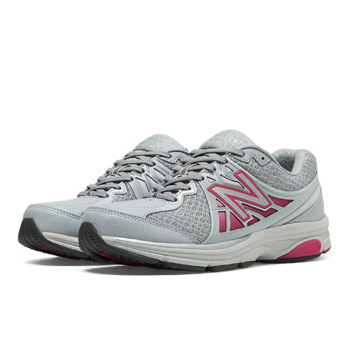 New Balance 847v2 Women's Health Walking Shoes - Grey, Exuberant Pink (WW847GR2)