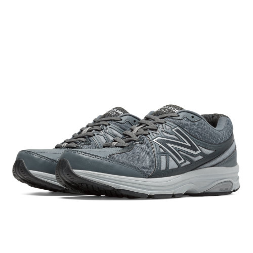 New Balance 847v2 Women's Health Walking Shoes - Lead, Silver Mink (WW847GY2)