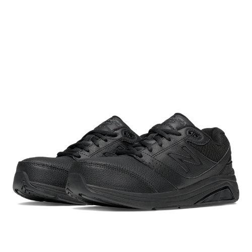 New Balance Leather 928v2 Women's Health Walking Shoes - Black (WW928BK2)
