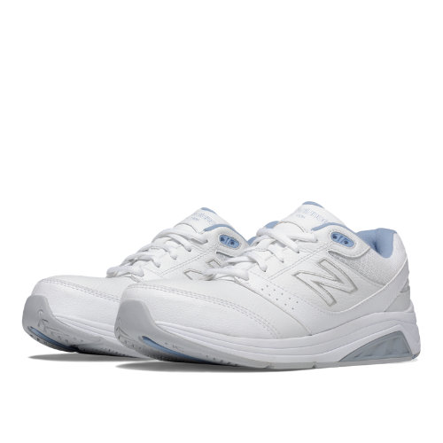 New Balance Leather 928v2 Women's Health Walking Shoes - White (WW928WB2)