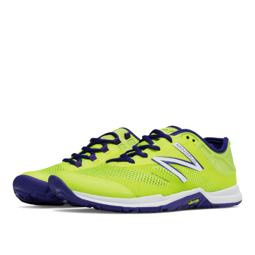 New Balance Minimus 20v5 Trainer Women's Shoes - Firefly / Purple (WX20FF5)