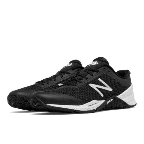 New Balance Minimus 40 Trainer Women's Cross-Training Shoes - Black / White (WX40BW)