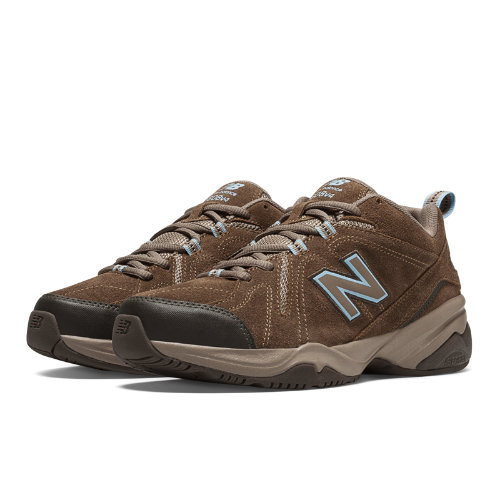 New Balance 608v4 Women's Everyday Trainers Shoes - Brown (WX608V4O)