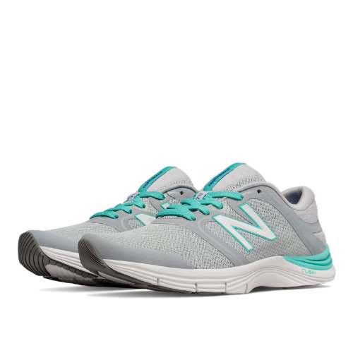 New Balance 711v2 Mesh Trainer Women's Shoes - Silver Mink / Aquarius (WX711AM2)