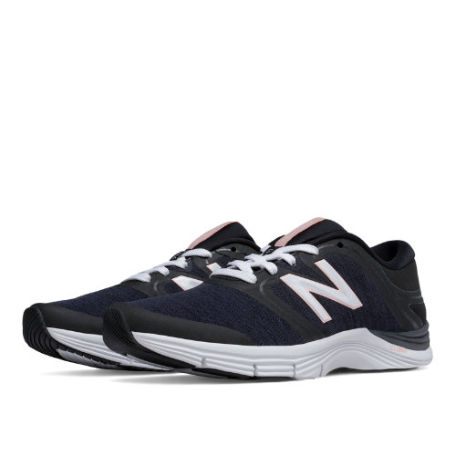 New Balance 711v2 Heathered Trainer Women's Shoes - Black (WX711BH2)