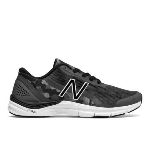 New Balance 711v3 Graphic Trainer Women's Cross-Training Shoes - Grey / Black (WX711CG3)