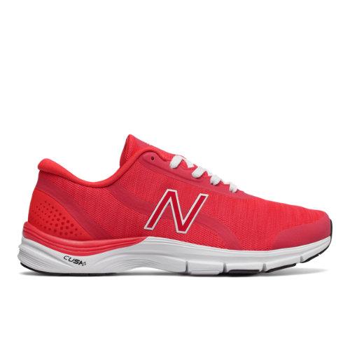 New Balance 711v3 Heathered Trainer Women's Cross-Training Shoes - Red / White (WX711ER3)