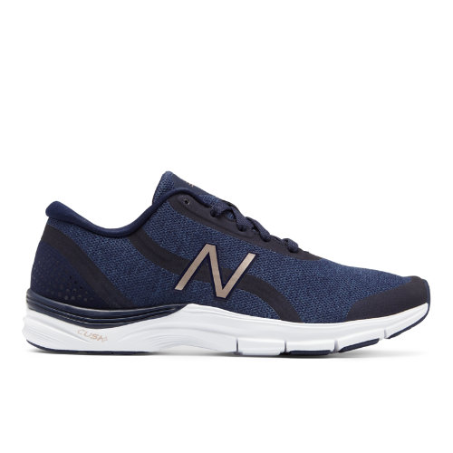 New Balance 711v3 Heathered Trainer Women's Cross-Training Shoes - Navy / Grey (WX711NM3)
