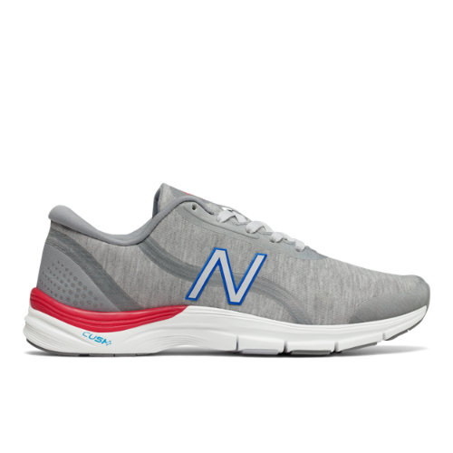 New Balance 711v3 Heathered Trainer Women's Cross-Training Shoes - Silver / White (WX711VP3)