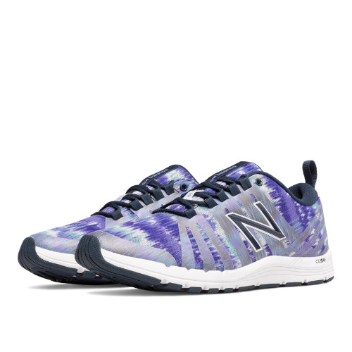 New Balance 811 Print Trainer Women's Shoes - Spectral / White (WX811A2)