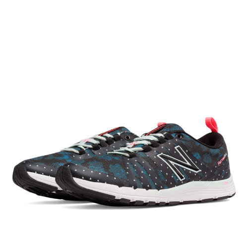 New Balance 811 Print Trainer Women's Shoes - Droplet / Black (WX811A4)