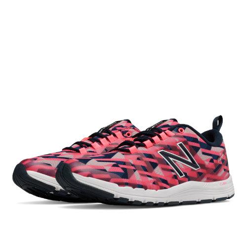 New Balance 811 Print Trainer Women's Shoes - Guava / Black (WX811FG)
