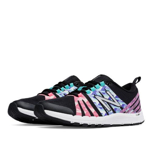 New Balance 811 Print Trainer Women's Shoes - Black / Guava / Spectral (WX811FM)
