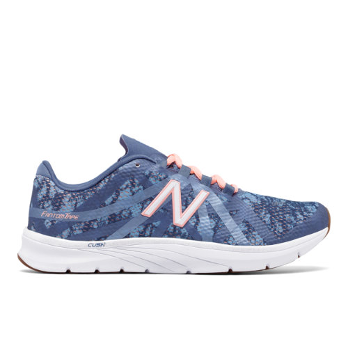 New Balance 811v2 Graphic Trainer Women's Cross-Training Shoes - Blue / Pink (WX811SP2)